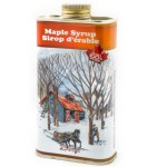 Condiments & Sauces-Heritage Grade A Pure Maple Syrup in a Tin