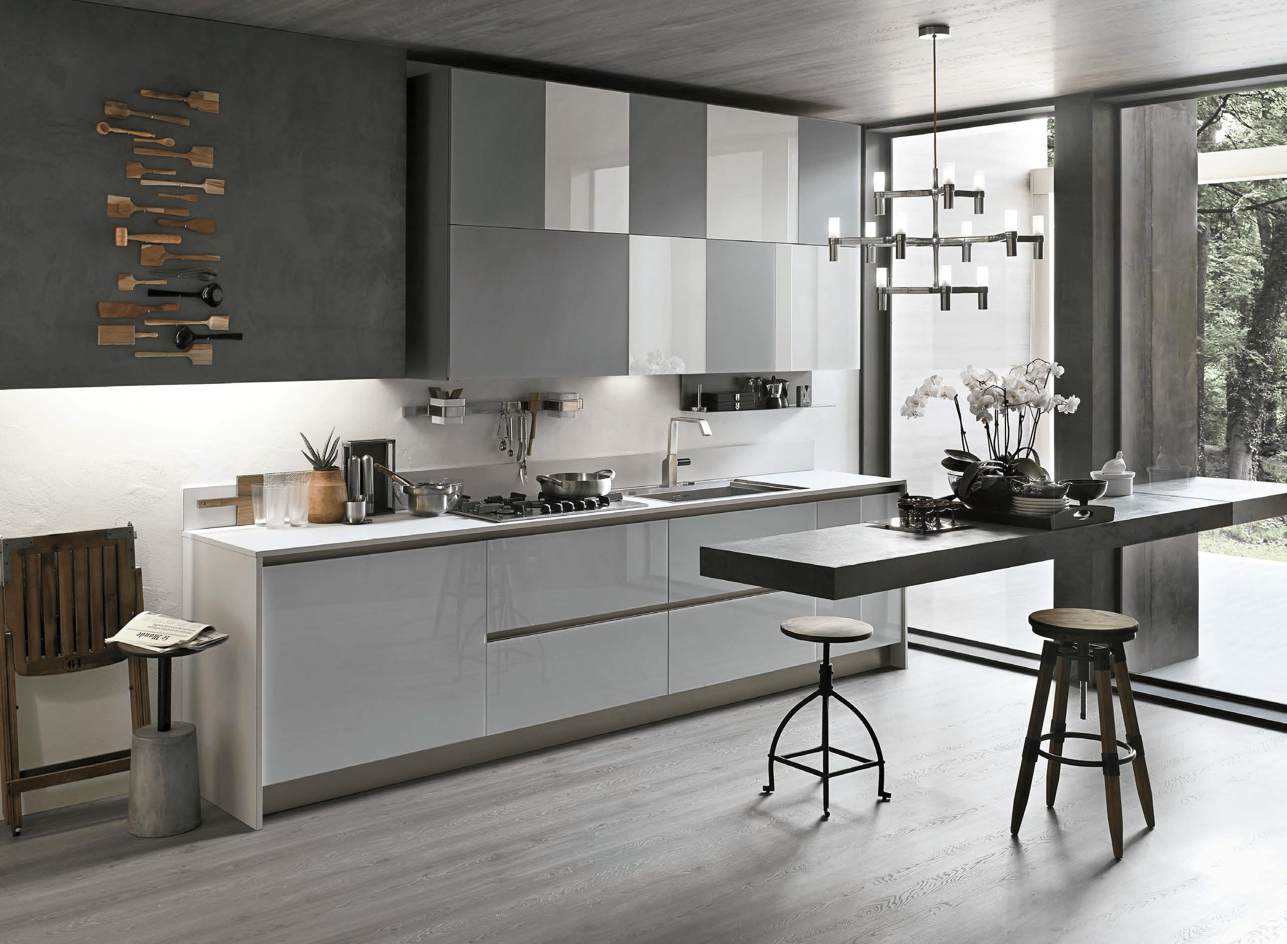 Cucine moderne aliant stosa cagliari cucine cagliari stosa moderne contemporanee e classiche - Cucine lineari moderne ...