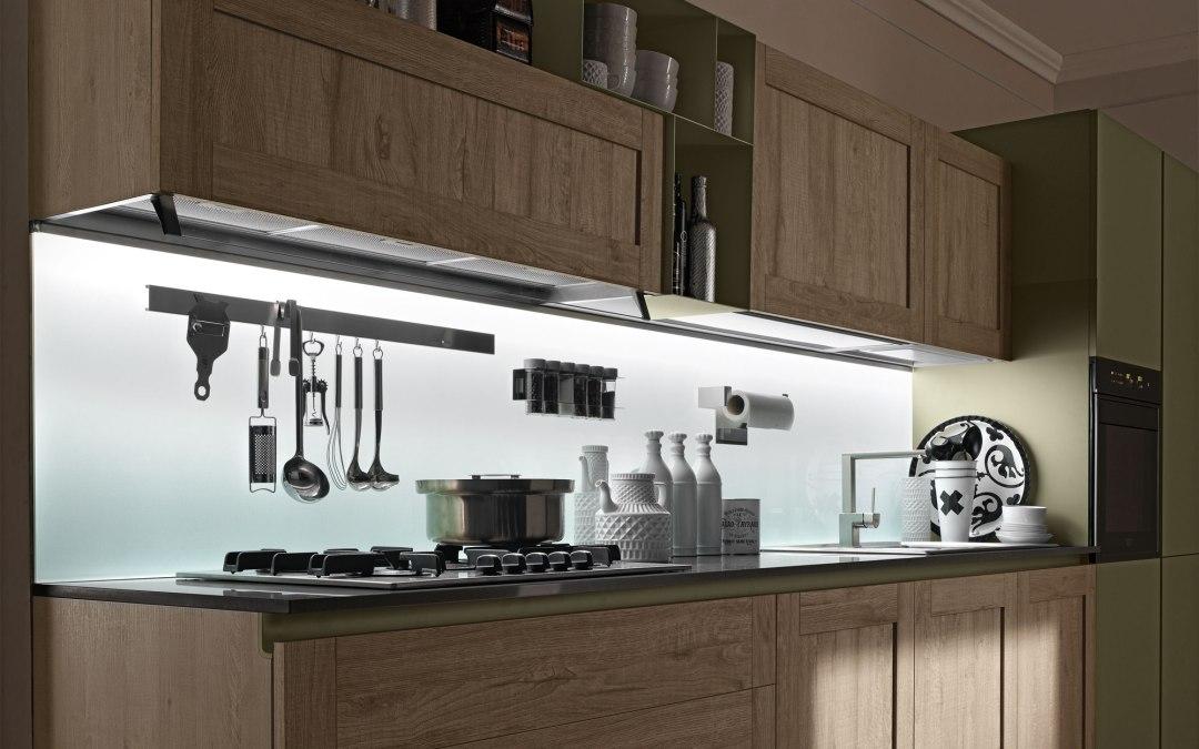 L' illuminazione in cucina