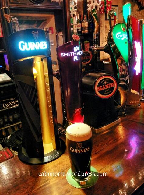 Unha Guinness nun pub