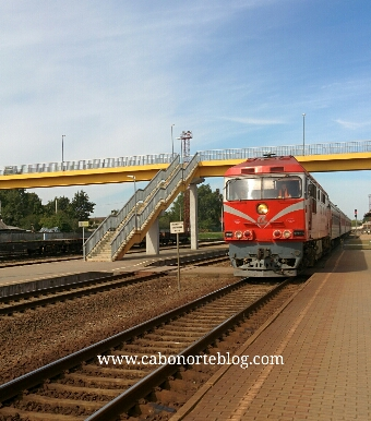 Tren de Sauliai a Vilna
