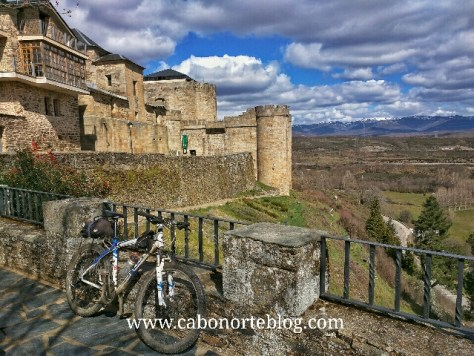 camino de santiago, camino sanabrés, puebla de sanabria, bici
