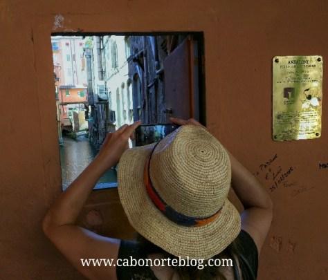 Canales ocultos en Bolonia (Italia)
