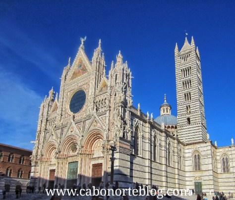 Duomo de Siena, toscana, italia