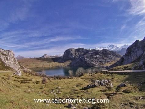lagos de covadonga, lago enol, btt, ciclismo