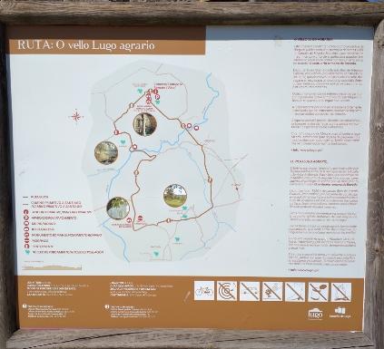 Ruta de sendeirismo polos arredores de Santalla de Bóveda