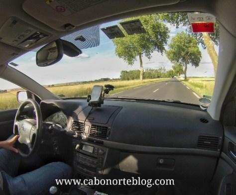 Conduciendo por Francia