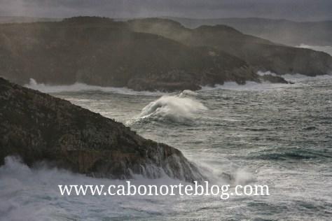El paisaje desde Punta Roncadoira