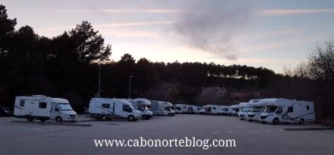 Área de autocaravanas de La Alberca