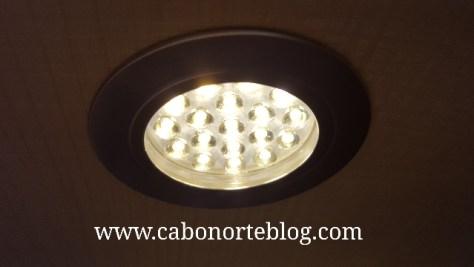 Las lámparas led ahorran batería