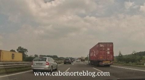 Las autopistas alemanas suelen soportar mucho tráfico