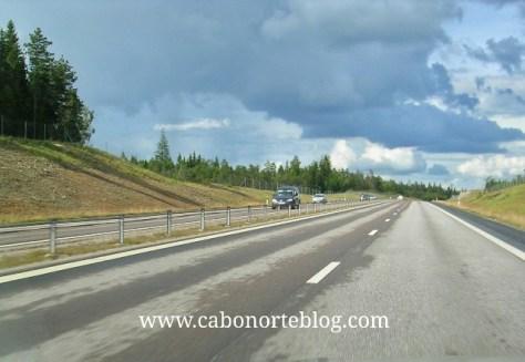 Autopista en Suecia