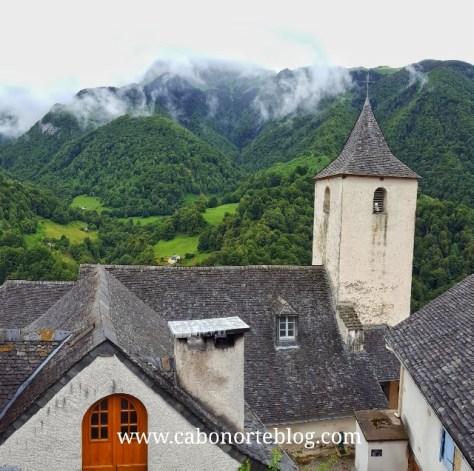 Aydius, bonito pueblo del Pirineo Francés