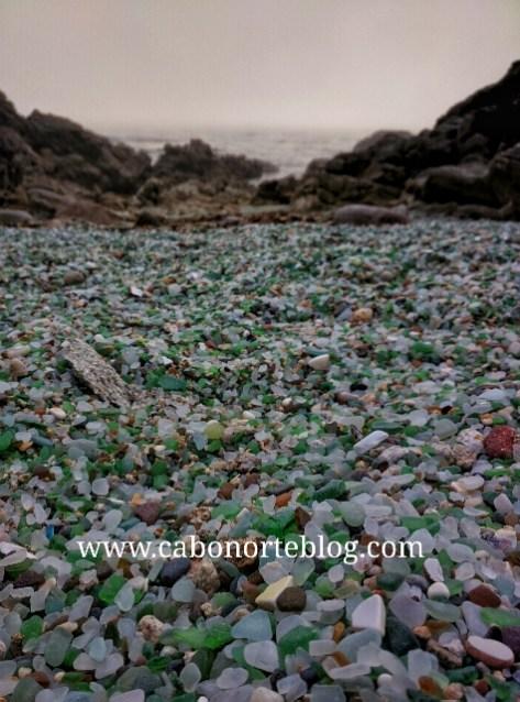 Praia dos Cristais, Laxe