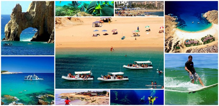 Playas de Cabo San Lucas y Los Cabos