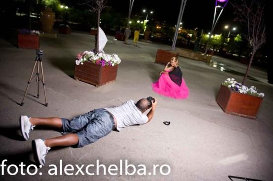 shooting de noapte Andreea si Cabral Ibacka
