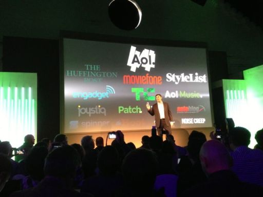 #newHTC One launch - partnership with AOL - Tim Armstrong2