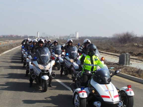 Politia rutiera serviciul moto 2013