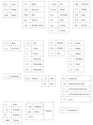 web-text emoticons 1