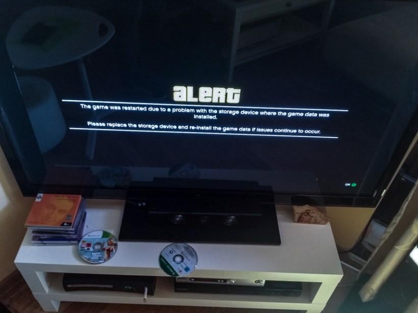 GTA V error