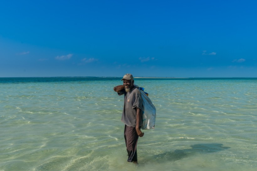 smiling old fisherman from Zanzibar Blue Lagoon 2015 (1 of 1)
