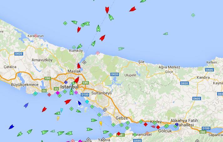 MarineTraffic Istanbul