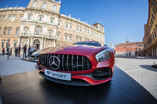 Launch of Gran Turismo Sport on PS4 @ Piazza Roma in Modena (4 of 8)
