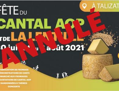 Fête du Cantal AOP à TALIZAT – ANNULE
