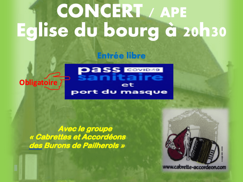 Concert St Mamet la Salvetat