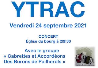 Concert YTRAC