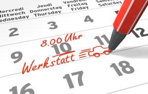 Kalender-Serie: Werkstatttermin