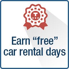 Earn free Car Rental Days - Car Hire