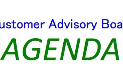 The perfect Customer Advisory Board agenda