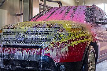 Good Smelling Soap at Car Wash