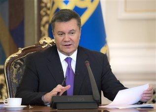 El presidente de Ucrania, Viktor Yanuk