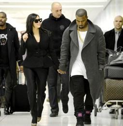 La primera foto de Kim Kardashian y Kanye West tras el anuncio