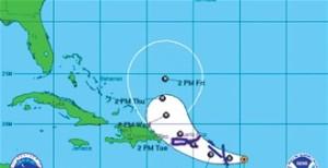 Huracán Gonzalo no ofrece peligro para R.Dominicana
