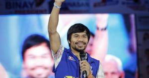 Del ring al Senado: Pacquiao habría ganado votación