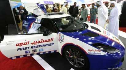 Dubai Ambulancia