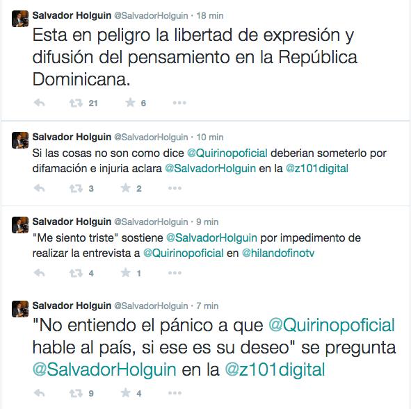 Holguin Tweets