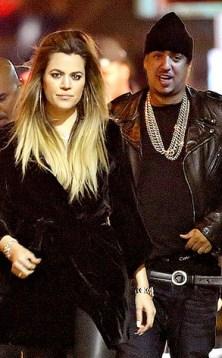 Khloé Kardashian está embarazada de French Montana