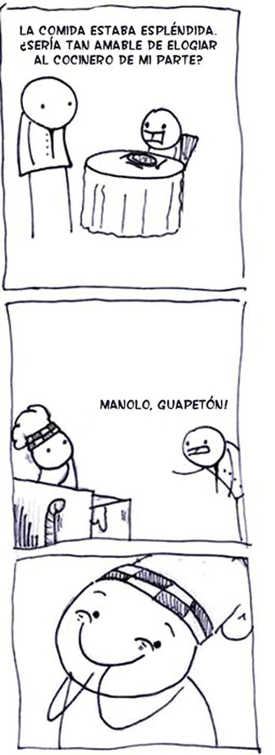 Manolo guapeton