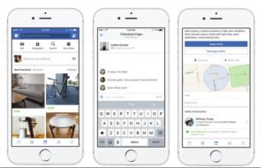 Facebook anuncia Marketplace, un nuevo espacio para compradores y vendedores
