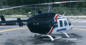 Desaparece helicóptero que salió de Puerto Plata