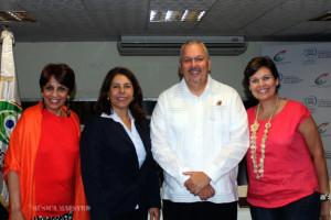 Tati-Olmos-Minist.-Turismo-Maria-Mercedes-Brito-UNESCO-RD-Fernando-Rodriguez-Irene-Gonzalez-Embajada-USA-copy