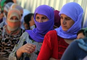 IRAQ-UNREST-YAZIDIS-DISPLACED
