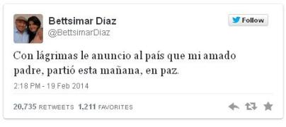 Via Twitter Diaz
