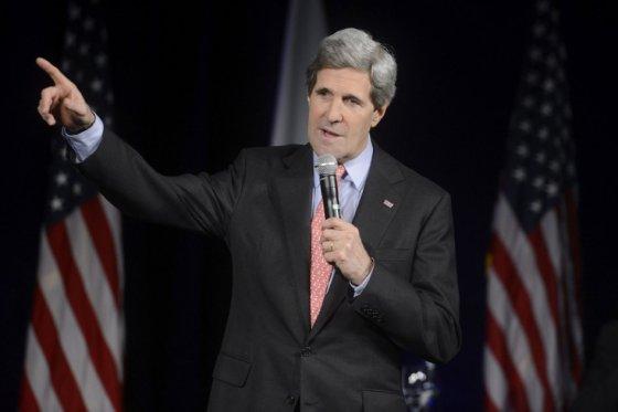El secretario de Estado estadounidense se refirió a la voluntad de Rusia de anexionarse la península ucraniana de Crimea.
