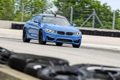 2015 BMW M3 and M4 Press Drive Road America.