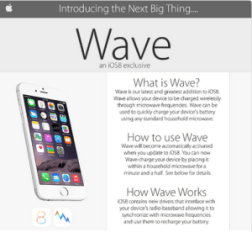 Queman sus iPhone 6 en el microondas tras leer un falso anuncio